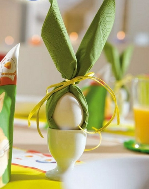 easter decoration fresh festive easter eggs hare chick quail yellow fresh colors bowl flowers
