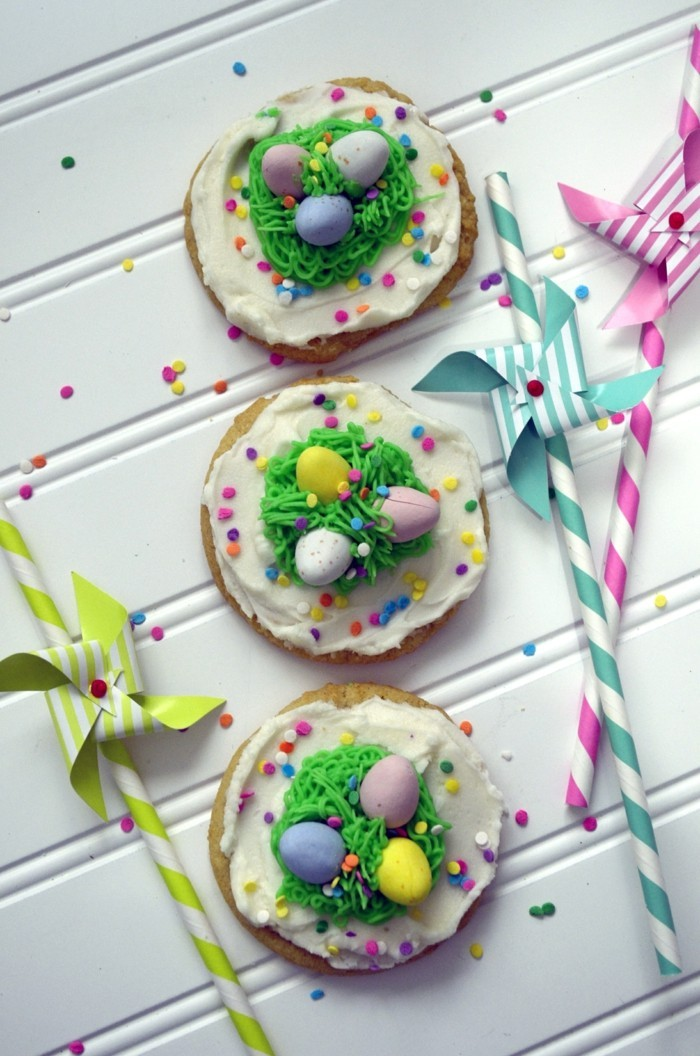 easter cookies baking colored ideas biscuits decorate