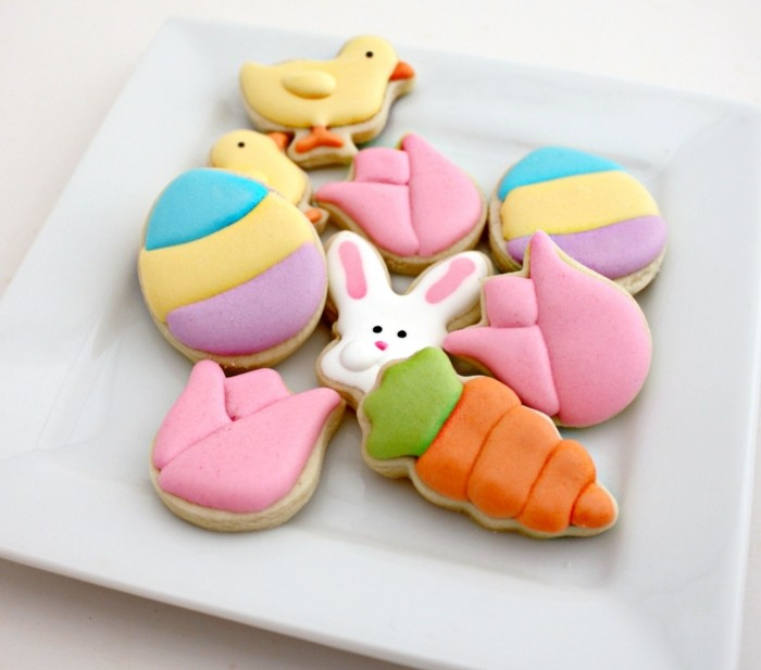 Easter biscuits baking biscuits decorate creative decorate