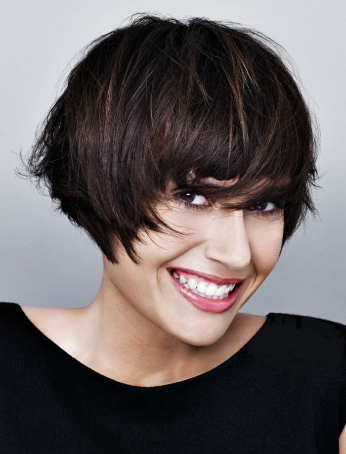 page cut with pony short bob pagen hairstyle retro style naughty