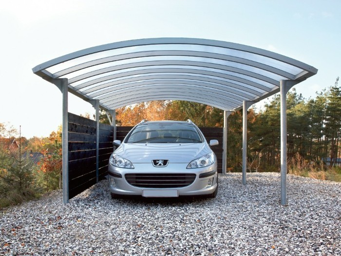 plexiglasplater carport out-metal