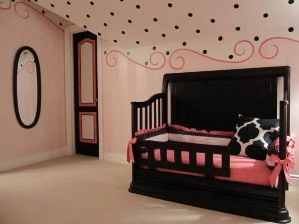 sumptuous room decorating kids room black pink
