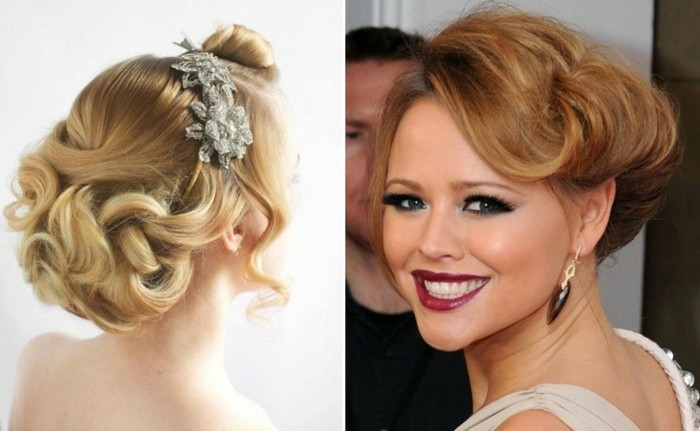 celebrity-cum-loose-updo hairstyles