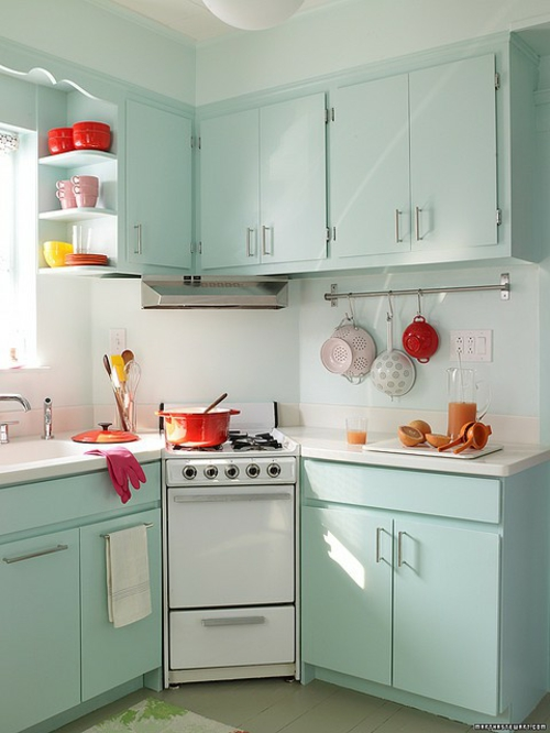 Outfit retro kitchens designs