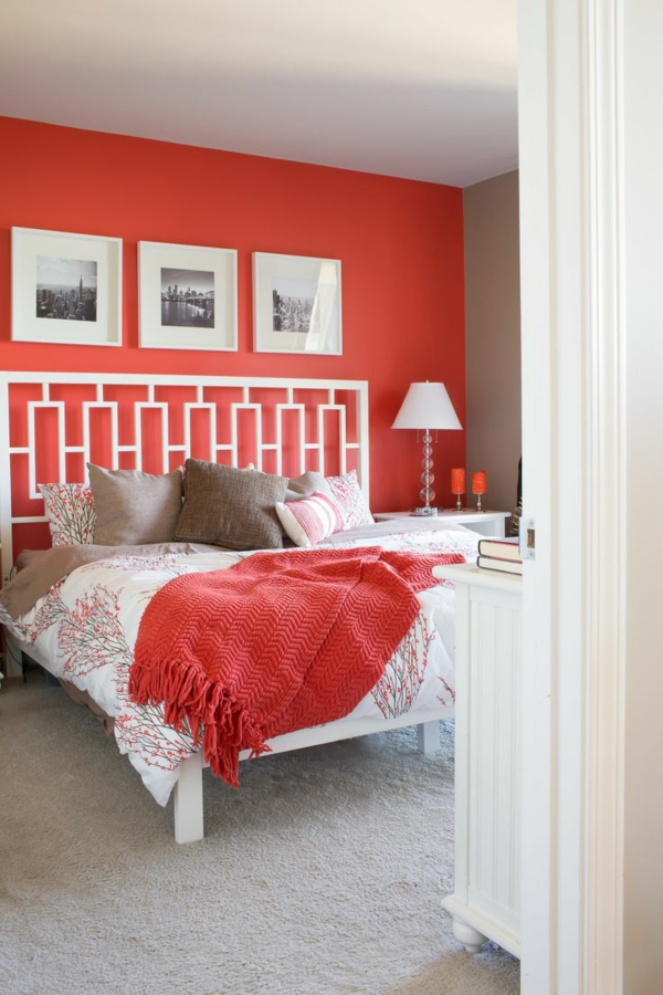 bedroom colors wall colors bedroom red accent wall