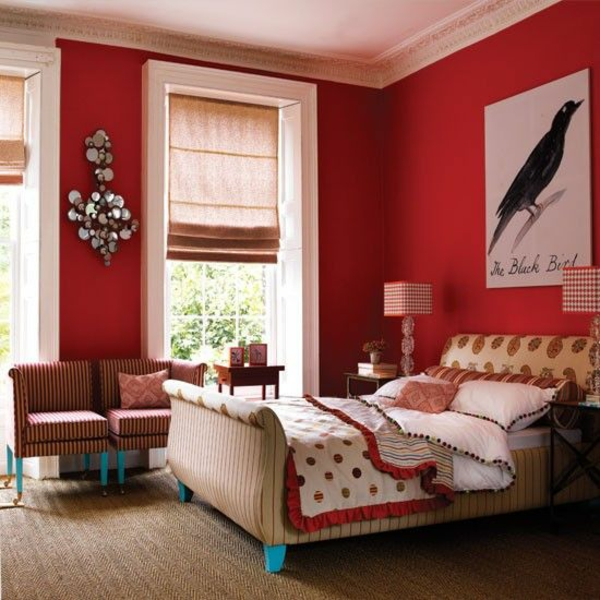 bedroom colors wall colors bedroom red