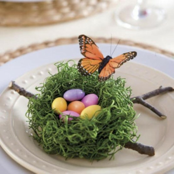 original deco ideas for easter ornament butterfly