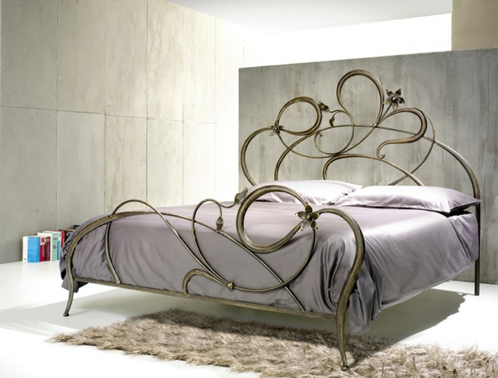 wrought iron bed anemone model idfdesign com