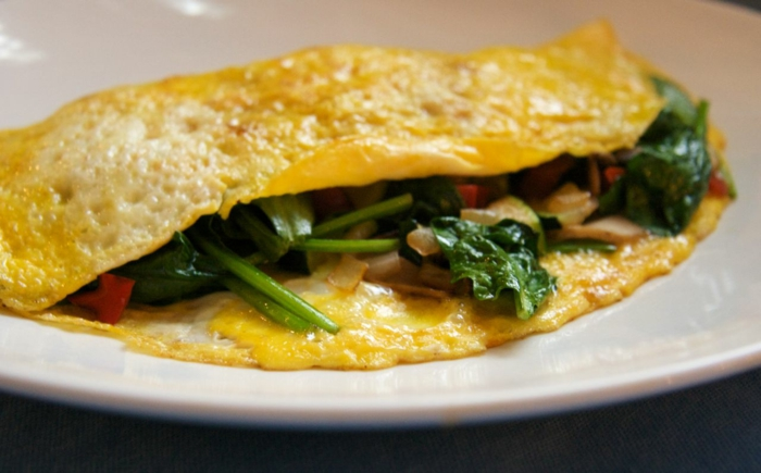 fast food fast healthy eating egg omelet