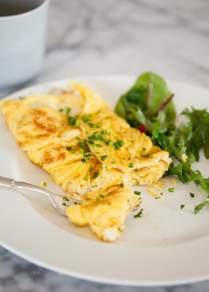 fast food fast healthy eating egg top dish