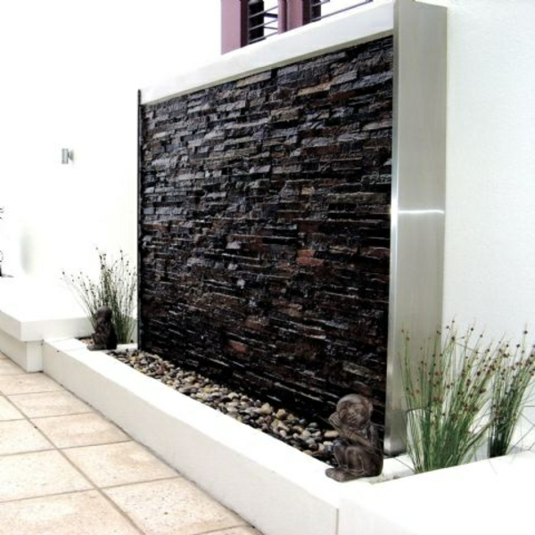 visual protection decorative stones pebbles water feature