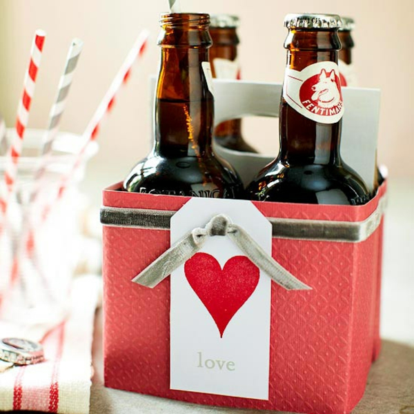 Valentine's Day Gift Pack Beer Idea