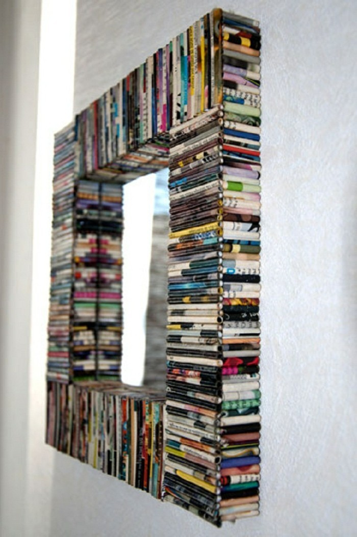 mirror-decorate-mirror-frame-magazines-reuse