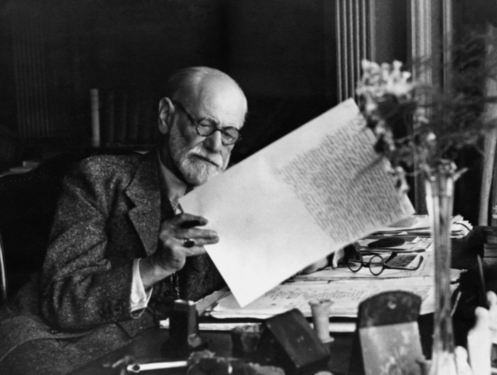 surrealism-artist-Sigmund Freud