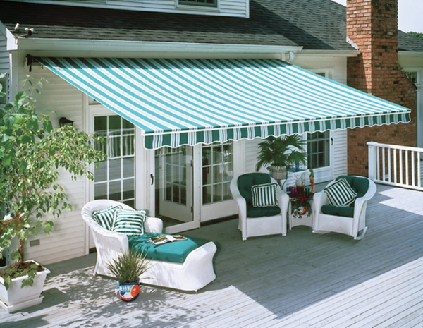patio roofing ideas state of the art garden design awning blue
