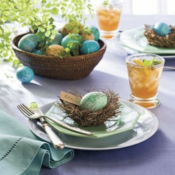 original deco ideas for Easter colorful colors