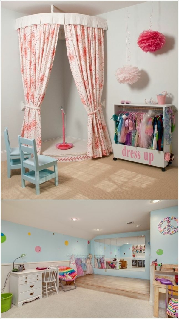 great deco ideas for kids room place for singing chairs desk