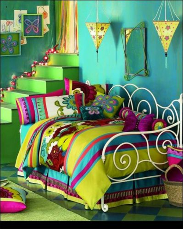 great color combination kids room bright colors