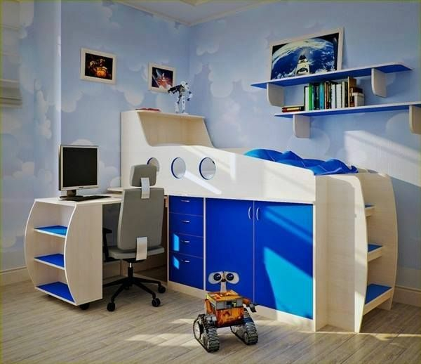 great bed for boys deco ideas