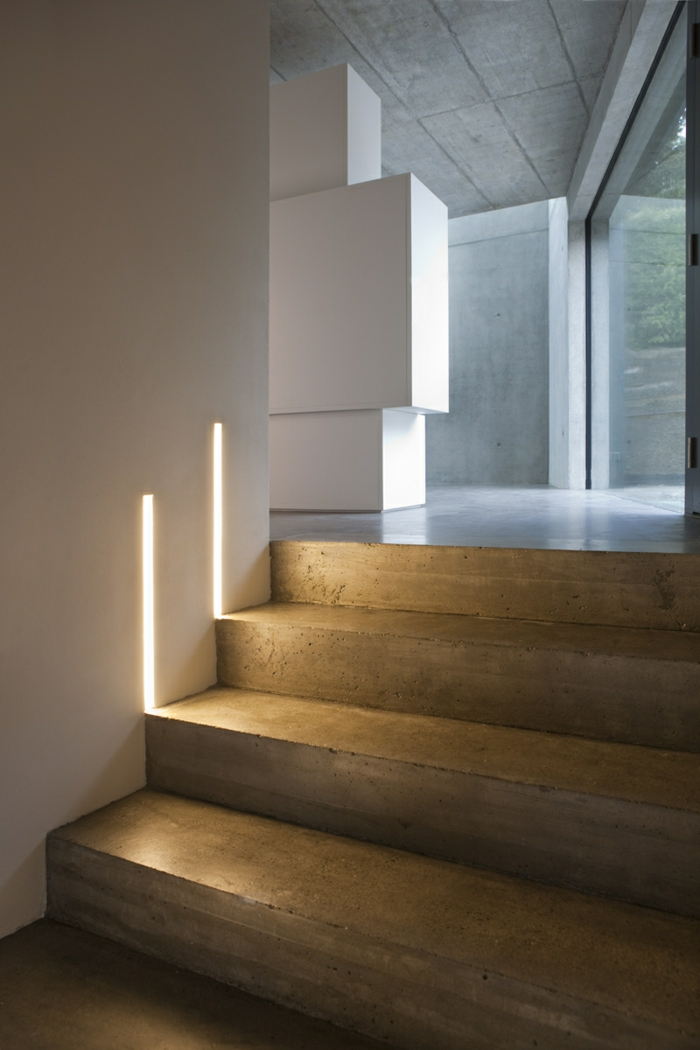 staircase lighting interior staircase led lights