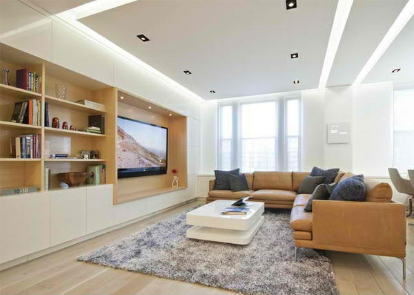 tv living wall media wall mounting wall living room ideas leather sofa