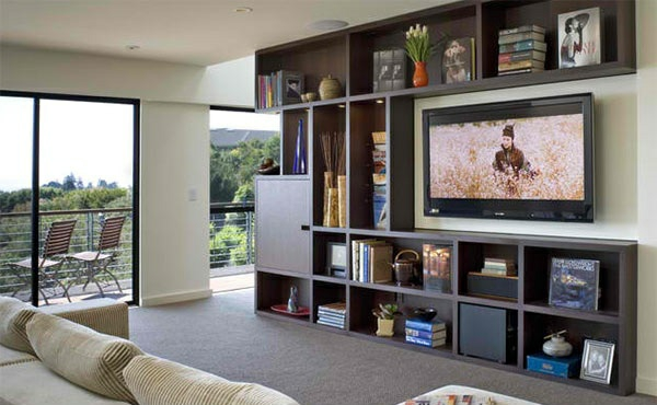 tv wall unit living room wall mount for flat screen TV
