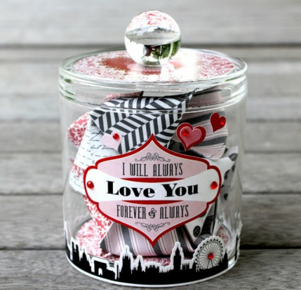 make your own glass jar