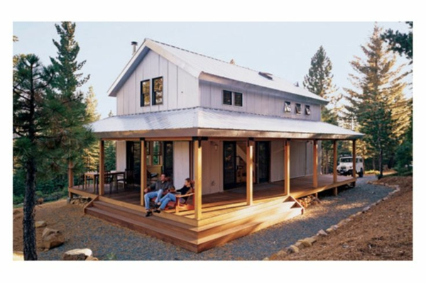 porch build american timber houses with porch