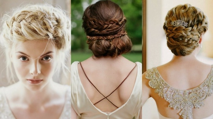 vintage-wedding-bridal hairstyles-updo hairstyles