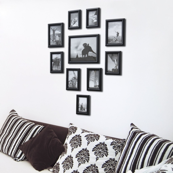 walls decorate pictures hang