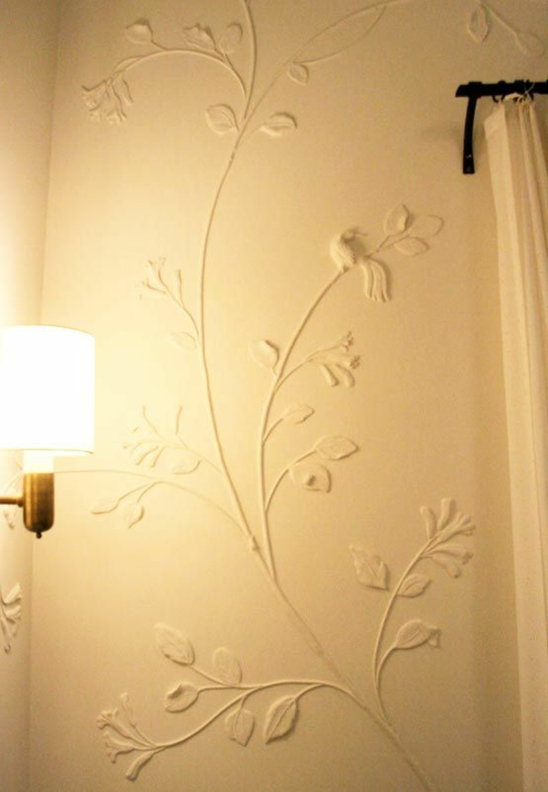 decorate wall decor plaster wall decals ideas