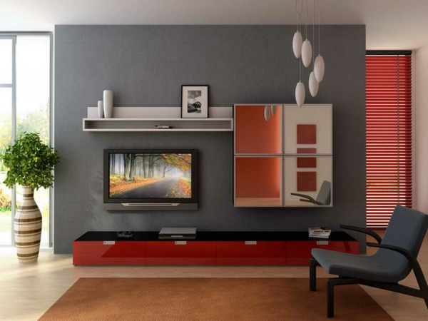 wall colors living room gray wall design tv living wall shape