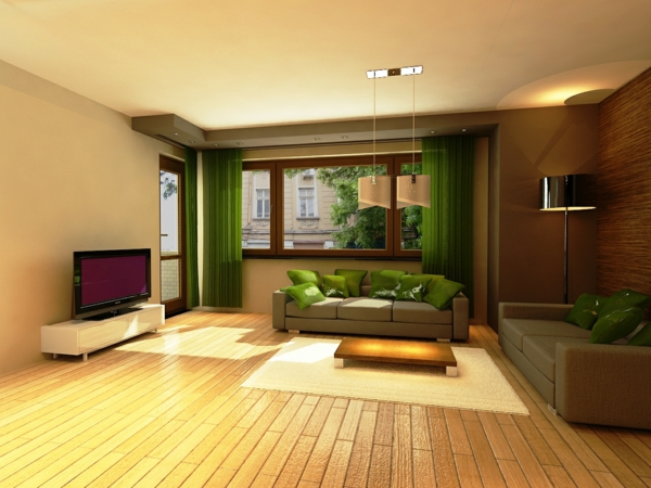 wall design colors warm ambience