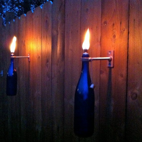 wall sconces diy lamp wine bottle candle holder