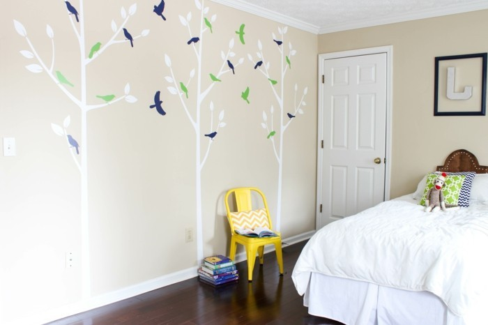 wall painting kids room wall decoration ideas trees