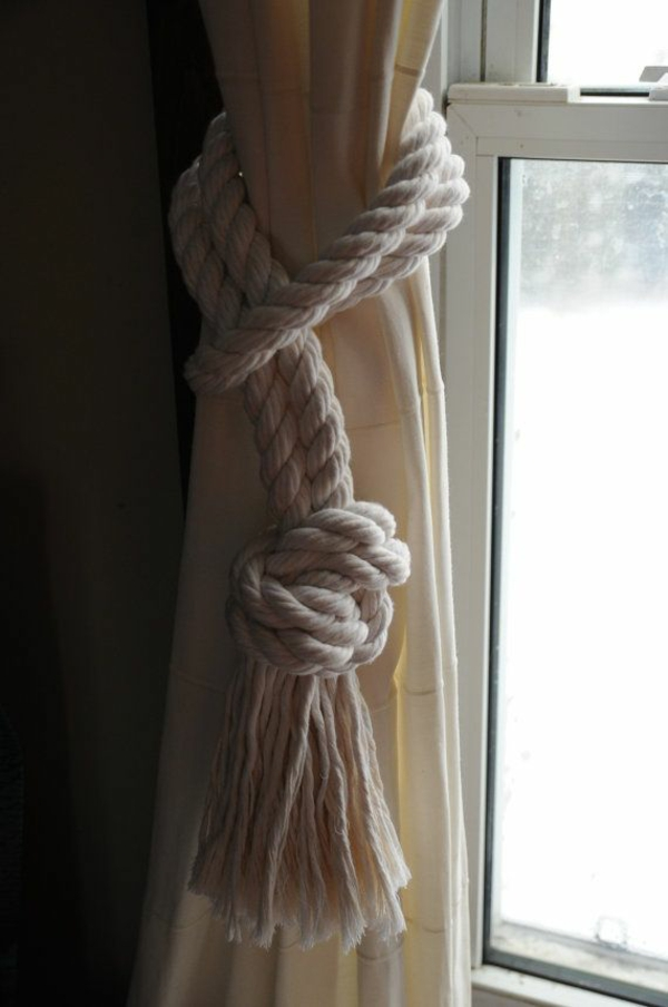 curtains decoration suggestions rope tiebacks