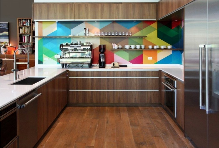 home decor kitchen cool kitchen back wall colorful