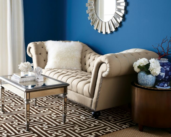 home decor ideas blue wall colors