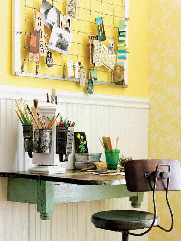 home decor ideas yellow color design