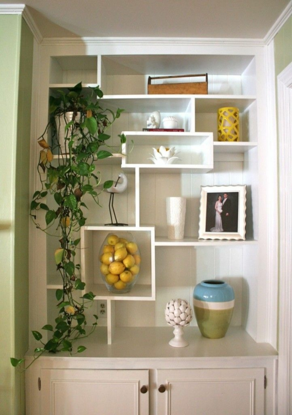 Apartment furniture modular shelving kitchen