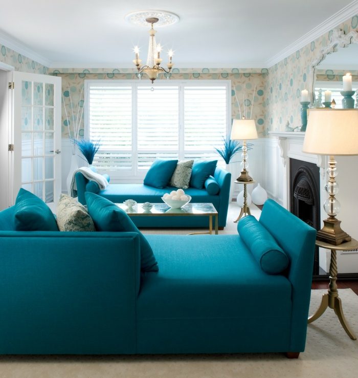 Living room furniture ideas colored furniture wall wallpaper