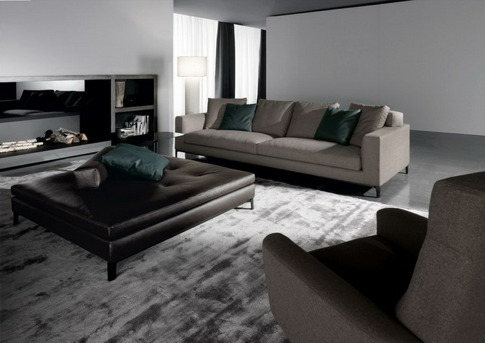 living room furniture ideas fancy carpet leather stools elegant sofas