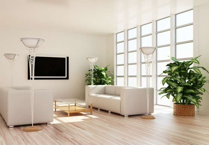 ideas de sala de estar ideas lámparas de piso de muebles sofisticados