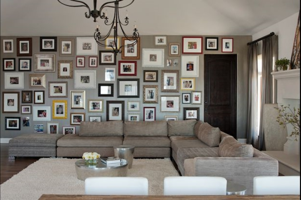 Living room walls ideas photos on the wall